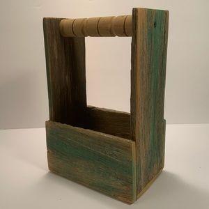 Handmade Wooden Caddy